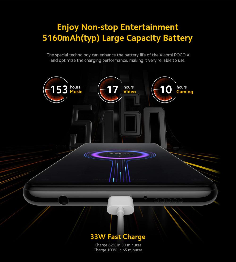 گوشی شیائومی مدل پوکو ایکس 3 مدل NFC ظرفیت 6/64 گیگابایت 4
