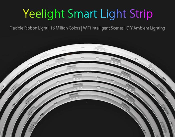 Yeelight YLDD01YL Light Strip RGB Color