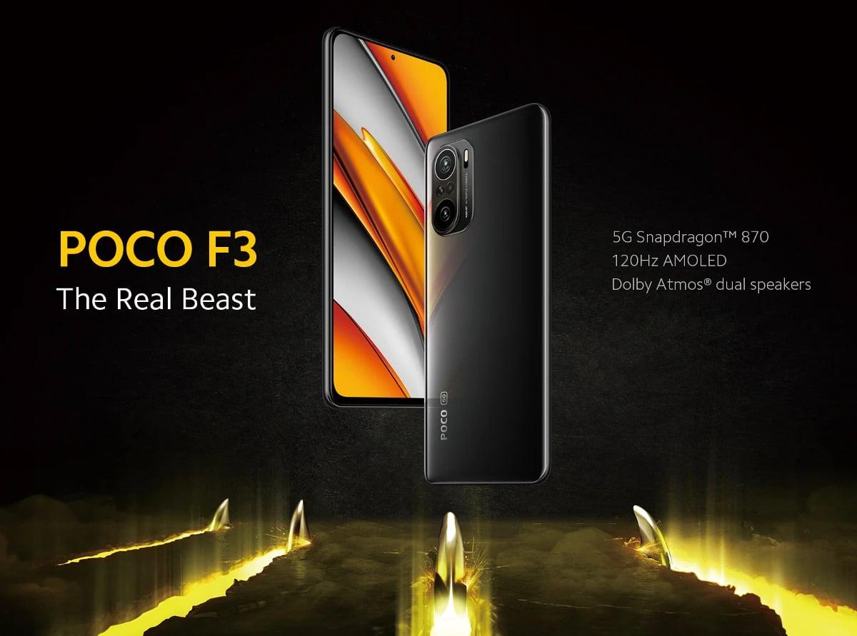 گوشی شیائومی پوکو اِف 3 128/6| 6/128 Xiaomi Poco F3